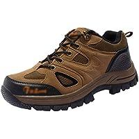 Yuanu Hombre Zapatillas Senderismo Zapatos Zapatillas Atlético Deportes al Aire Libre Senderismo Zapatillas de Deporte