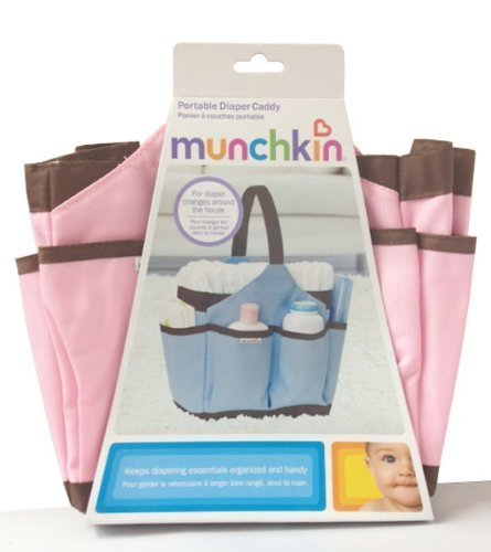 Munchkin Portable Diaper Caddy, Pink by Munchkin