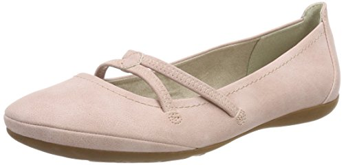 Tamaris Damen 22110 Mary Jane Halbschuhe, Pink (Rose), 38 EU