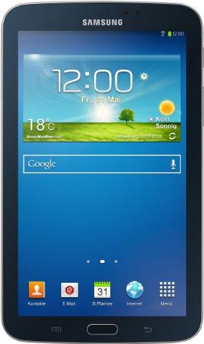 Samsung Galaxy Tab 3 17,8 cm (7 Zoll) Tablet (Dual-Core, 1,2GHz, 1GB RAM, 8GB interner Speicher, 3 Megapixel Kamera, WiFi, Android 4.1) schwarz