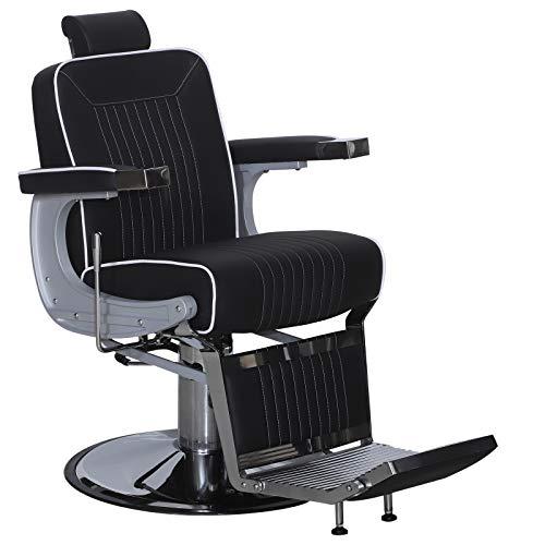 Barberpub 3822bk - sedia da parrucchiere