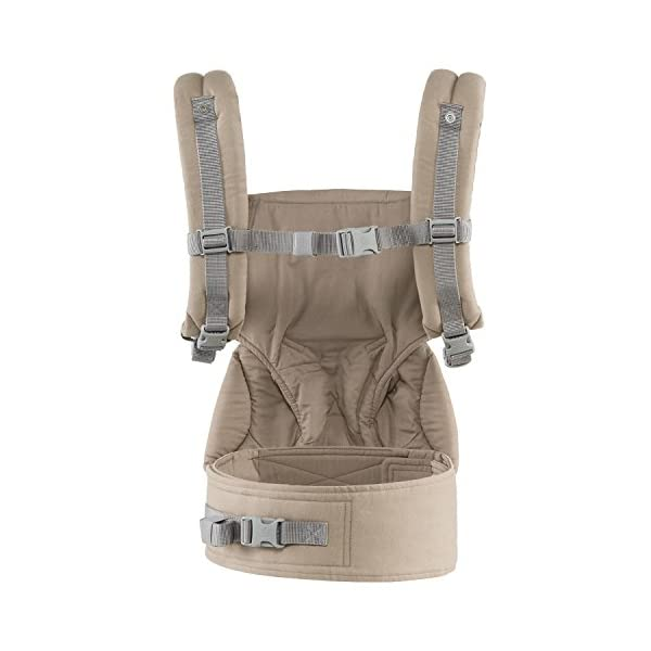 Ergobaby baby carrier collection 360 (5.5 - 15 kg), Moonstone Ergobaby 4 ergonomic wearing positions: front-inward, front-outward, hip and back carry Structured bucket seat keeps baby seated in the anatomically correct frog-leg position Exceptionally comfortable thanks to adjustable, extra-wide waistband to support the lower back 4