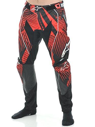 alpinestars-pantalon-cross-techstar-pants-cool-gray-red-2012-couleur-gris-rouge-taille-34