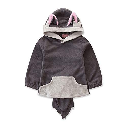 Grey Fox Cosplay Kostüm - Fairy Baby Kleinkind Jungen Mädchen Fox