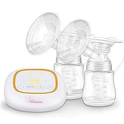 Schnuller aus Silikon mit Massage /& Absaugung Nircooe Elektrische Milchpumpe Brustpumpe Einzel Muttermilch Abpumpen inkl Pink