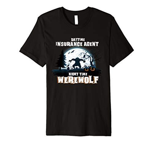 Versicherung Agent Werwolf bei Nacht Halloween-Kostüm -