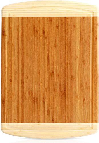 Utopia Kitchen Planche à découper en bambou (43 x 30...