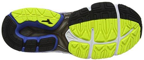 Mizuno Wave Kien 3 G-Tx (W), Chaussures de Running Entrainement Homme Bleu (Strong Blue/silver/safety Yellow)