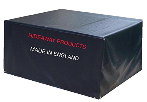 Allwetter-Schutzhülle für kleine Rattan-Sofas, 2-bis-3-Sitzer, hochwertig, hergestellt in Großbritannien