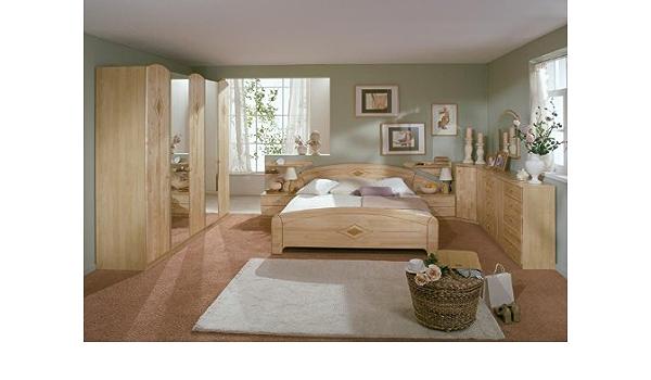 Wolf Mobel Modernes Schlafzimmer Alm Birke Teilmassiv Amazon De Kuche Haushalt