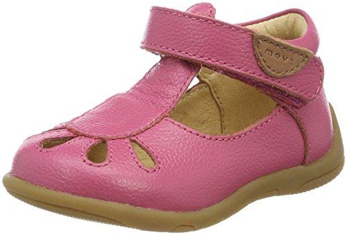 move Baby Mädchen Lauflernsandale Girls Sandalen, Hot Pink, 23 EU Hot Pink Leder