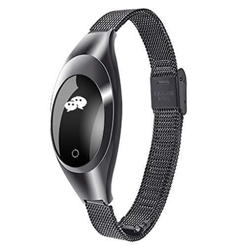 Rosennie Smartwatch,Z18 Women Blood Pressure Oxygen Heart Rate Monitor Bracelet Watch Smart...
