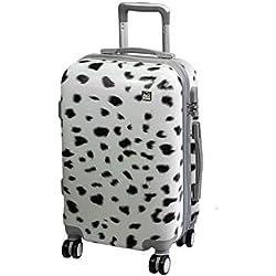 bad374580 A2s Equipaje cabina maleta ligera y duradera maleta de cáscara dura con 8  ruedas giratorias llevar