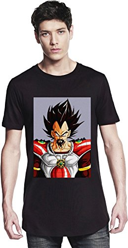Angry King Vegeta Long T-shirt Small