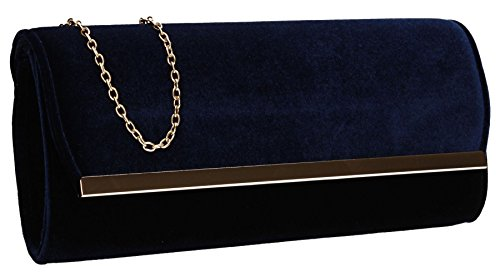 SwankySwans , Damen Clutch One Size marineblau