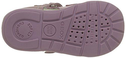 Geox B Kaytan G, Chaussures Premiers pas bébé fille Rose (C8004)