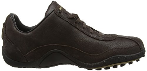 Merrell Sprint Blast Leather, Sneakers Basses homme Dark Chocolate