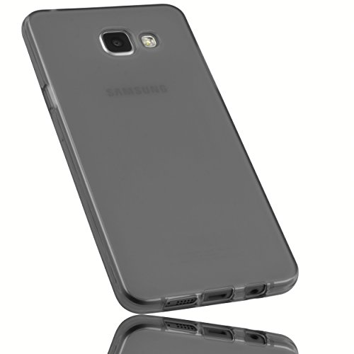 mumbi Schutzhülle Samsung Galaxy A5 (2016) Hülle transparent schwarz (nicht für das Galaxy A5 - A500F von 2015)