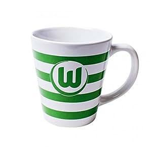 """VfL Wolfsburg Tasse """"Streifen"""""""