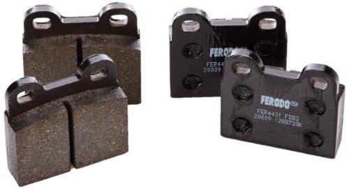 Preisvergleich Produktbild Ferodo FDB3M PREMIER Bremsbelagsatz,  Scheibenbremse - (4-teilig) - (4 Stück)