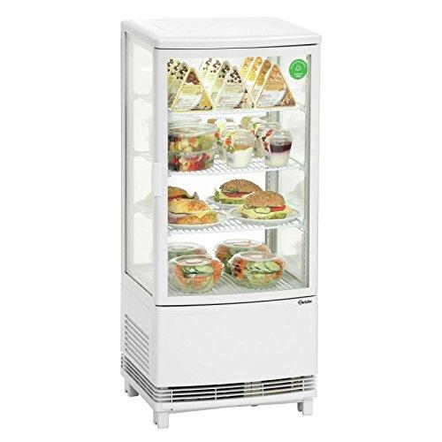 Vitrine réfrigérée 86 litres avec froid ventilé