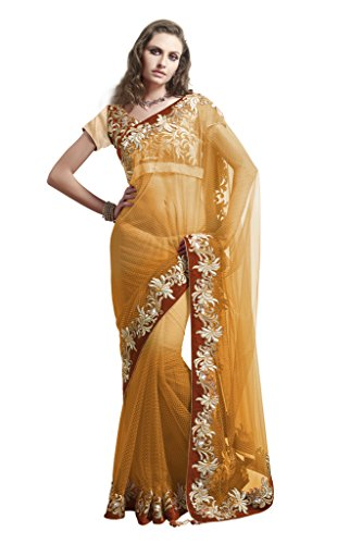 Mahotsav Women's Satin,Velvet,Net Net,Satin Sarees ( 4036 F )  available at amazon for Rs.2699