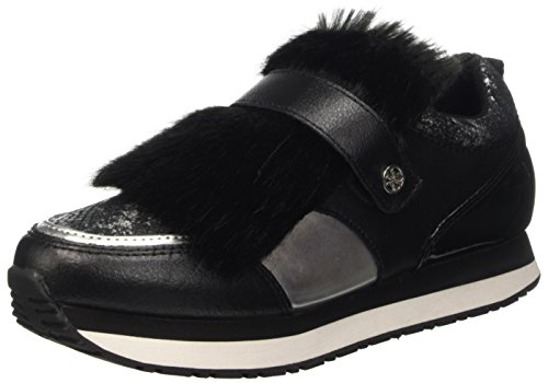 Guess Rimma FLRIM4LEP12, Scarpe Low-Top Donna, Nero (Blksi), 39