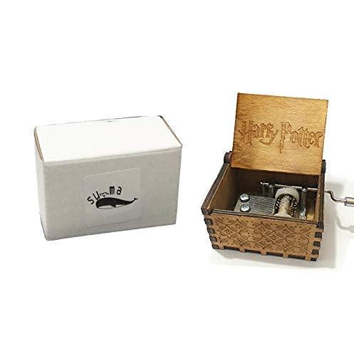 Funmo - Caja de música de Madera clásica de la Caja de la música de Harry Potter Music Box para los Regalos