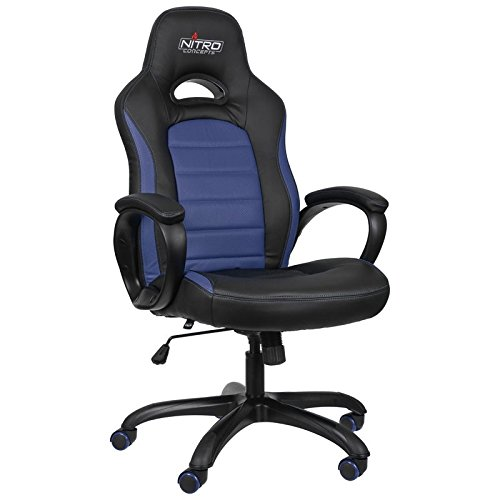C80-serie (Nitro Concepts NC-C80P-BB-UK - C80 Pure Series Gaming Chair - Black/Blue)