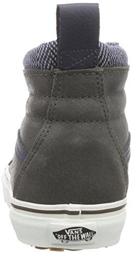 Vans Sk8-Hi MTE, Sneakers Hautes Mixte Adulte Gris (Mte/Charcoal/Herringbone)