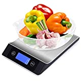 UROPA HERO Food Scale Digital Kitchen Scales, 10kg Stainless Steel Electronic Kitchen Weighing