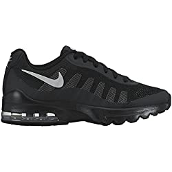 Nike Air Max Invigor (GS), Chaussures de Running Mixte Enfant, Noir (Black/Wolf Grey), 36 EU
