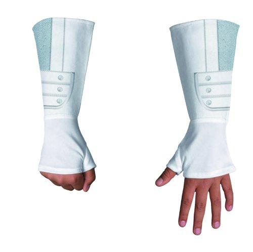 Erwachsene Storm Shadow Für Kostüm - Disguise G.I. Joe Retaliation Storm Shadow Deluxe Child Handschuhe One-Size