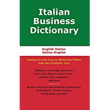 Italian Business Dictionary (English Edition)