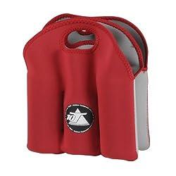 10t Outdoor Equipment 10t Cooler 6 X 500ml Neopren Dosenkühler Flaschenkühler Kühler Getränkekühler Kühltasche Mit Tragegriff