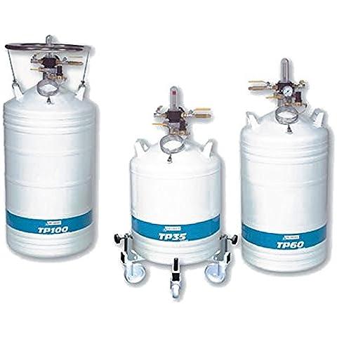 Aria liquido DMC 082262Container pressurizzato di azoto liquido, TP