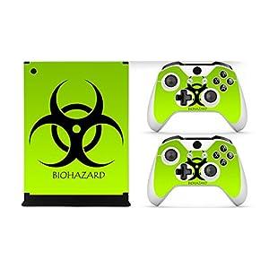Gaminger Xbox ONE Designfolie für Konsole + 2 Controller + Kamera Sticker Skin Set – Eagle
