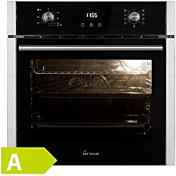 Four à encastrer (60cm, 70 l, 2.8kW, air chaud, système de grill, système de nettoyage) EB8005ED - KKT KOLBE
