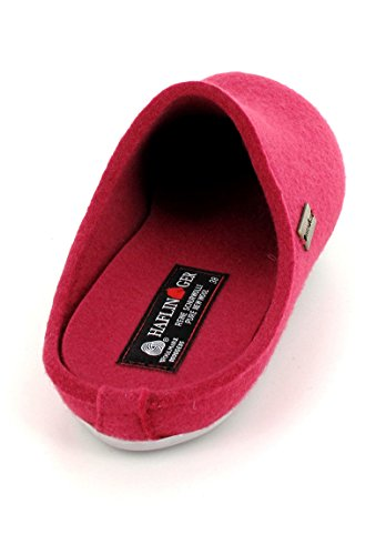 Haflinger Everest Fundus 481024 Pantofole unisex Fucsia