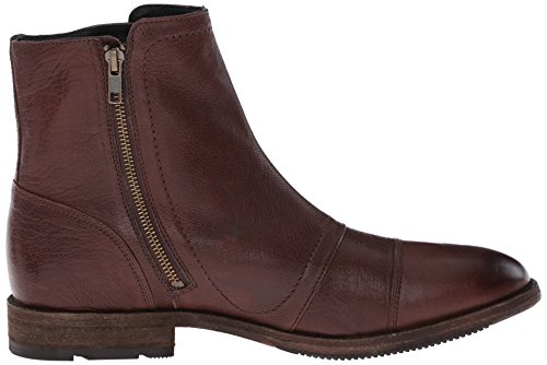 FRYE Mens Ethan Triple Monk Boot Dark Brown