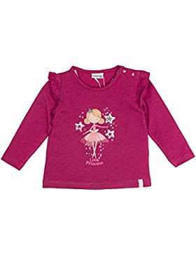 SALT AND PEPPER Baby-Mädchen Langarmshirt B Longsleeve Princess Fee