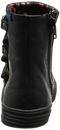 Blowfish Ohmy Ojai, Boots femme Noir (Black Old Saddle)