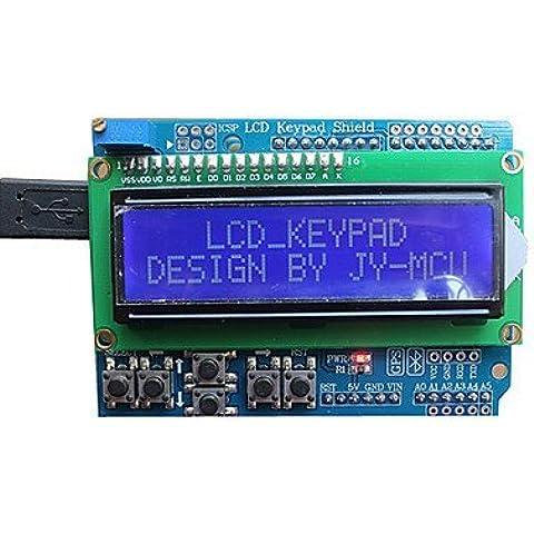 JY-MCU scheda di espansione tastiera LCD (per arduino), con interfaccia bluetooth, schermate blu, presentazioni