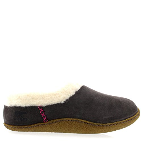 Sorel Nakiska NL1474 Damen Pantoffeln Grau (Gris (051 Shale))