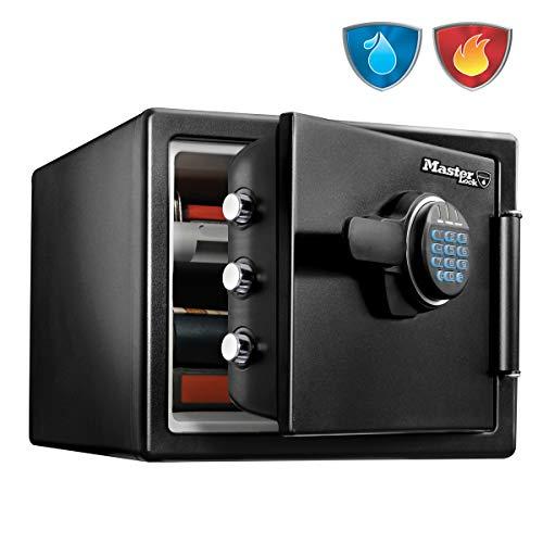 Master Lock Caja Fuerte de Seguridad [Ignifuga y Resistente al Agua] [Combinación Digital] [Large]...
