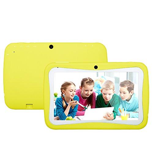 QIMAOO 7 Zoll Kinder Tablet PC 8G ROM-Speicher Android Quad Core 1.2 GHz bilige Tablet für Kids mit Spezialangebot