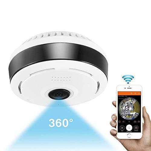 QIA Mini 1080P WiFi IP Kamera 360 Grad Kamera IP Fisheye Panorama 2MP WiFi PTZ IP Kamera Wireless Video Überwachungskamera Ip Wireless Headset