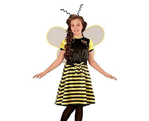 Preisvergleich Produktbild WIDMANN 03966 - Kinderkostüm Biene,  Kleid,  Unterrock,  Gürtel mit Schleife,  Flüge und Fühler