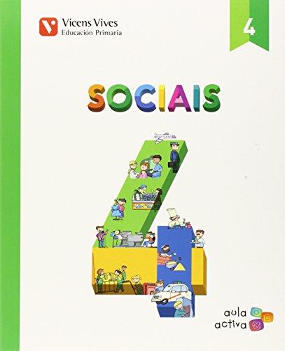 Sociais 4 (aula Activa) - 9788468228983 por Margarita Garcia Sebastian