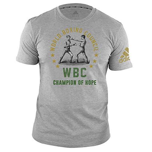 adidas WBC T-Shirt Camiseta, Unisex Adulto, Gris, Small